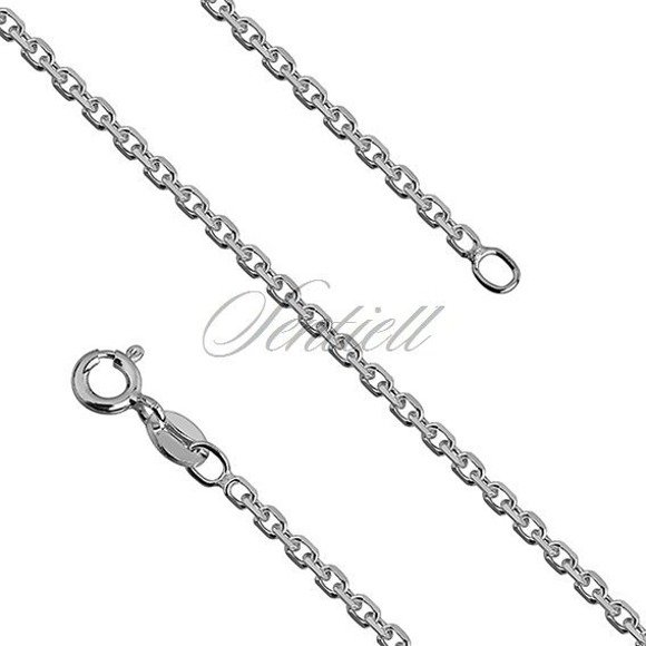 Silver (925) chain Rolo diamond cut