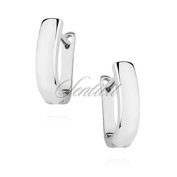 Silver (925) high polished earrings