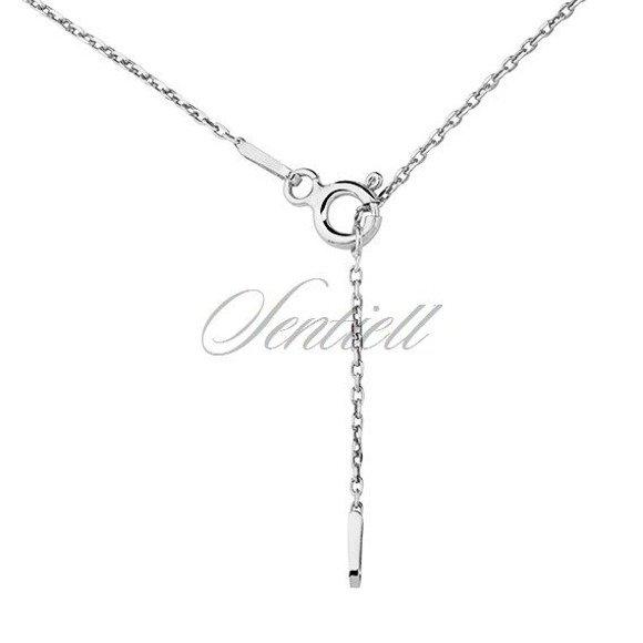 Silver (925) necklace - Origami dove
