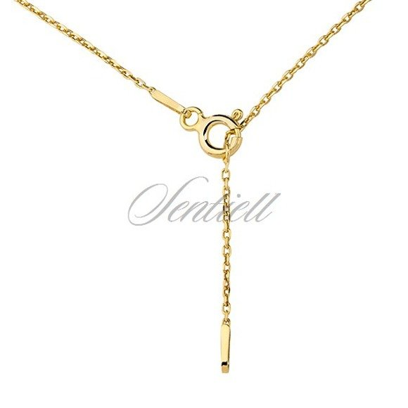 Silver (925) necklace - Origami humming-bird, gold-plated