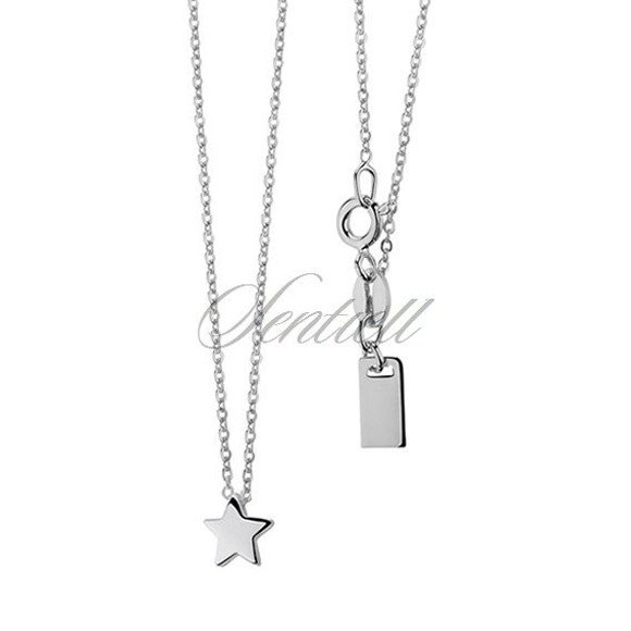 Silver (925) necklace star