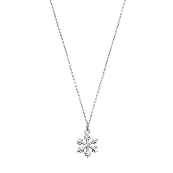 Snowflake - Sterling Silver Necklace